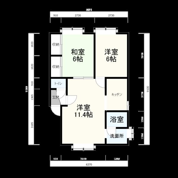 奈井江町YMハウス 103号室